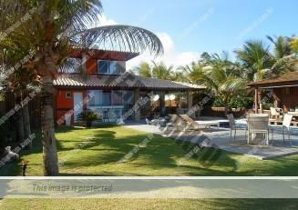 Casa em frente ao mar em Salvador
