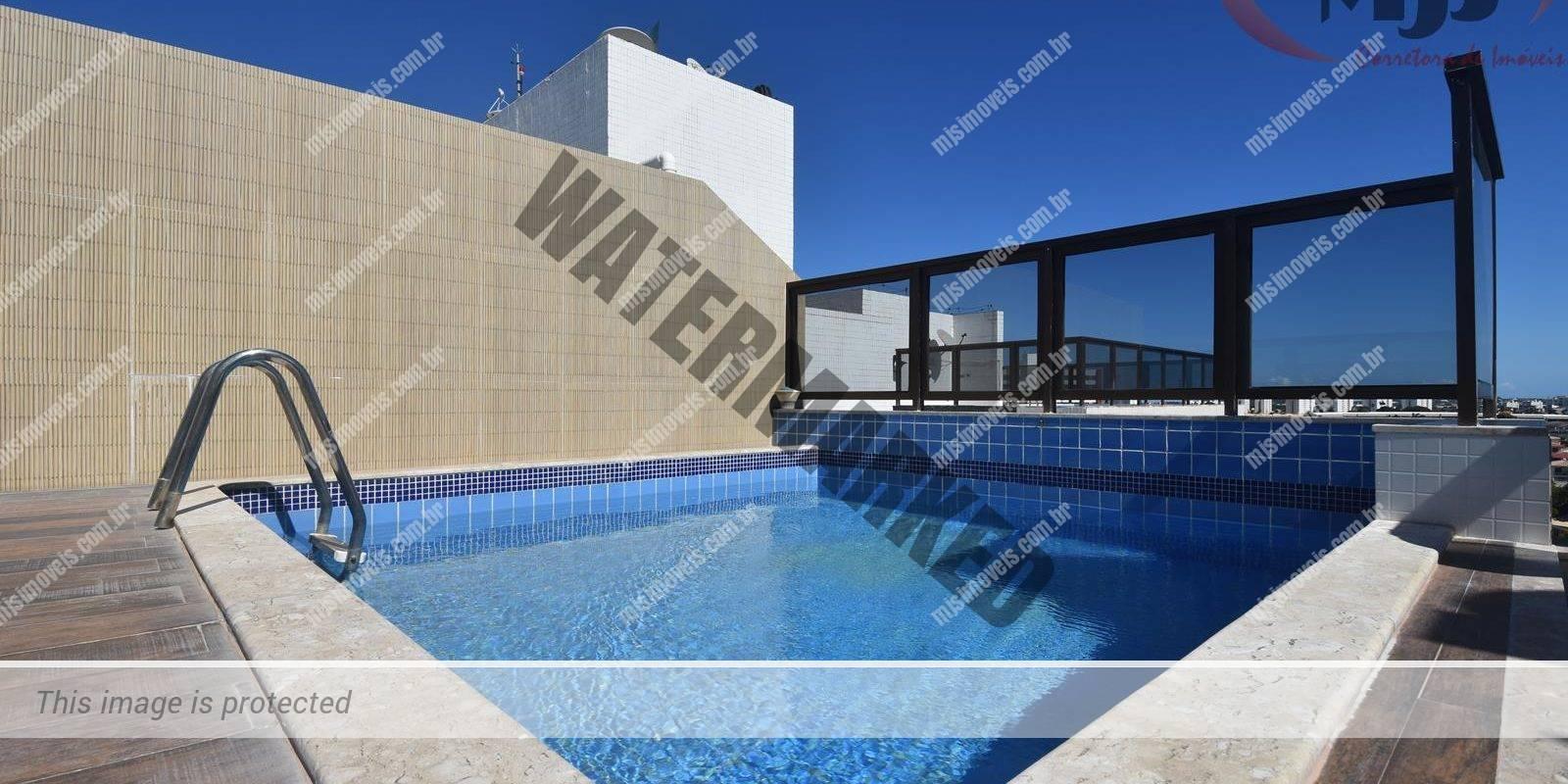 Apartamento cobertura a venda em Lauro de Freitas