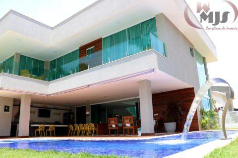 Casa em Guarajuba em frente ao mar