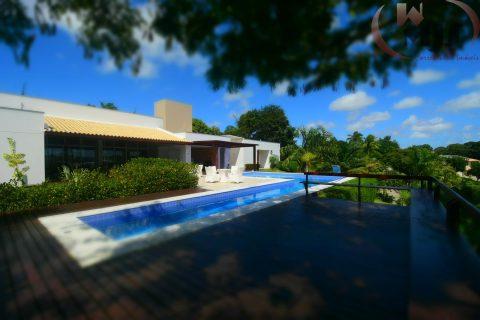 Casa de luxo mobiliada a venda Encontro das Águas